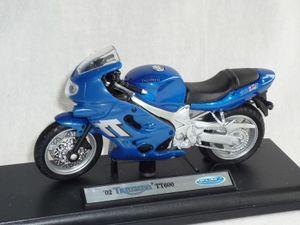 Triumph Tt600 Tt 600 2002 Blau 1/18 Welly Modellmotorrad Modell Motorrad