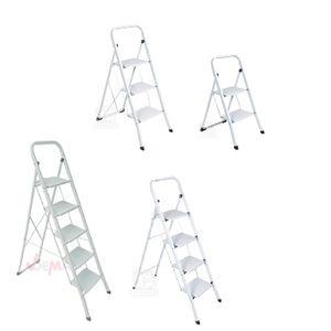 Stahl Haushaltsleiter Klapptritt 2 / 3 / 4 / 5 Stufen Auswahl, Stufenanzahl:5 Stufen