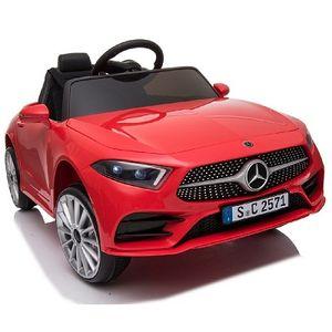 Mercedes-Benz CLS350 Rot Kinderauto Kinder Elektro Elektrofahrzeug mit Fernbedienung mp3, USB, 2x starke Motoren uvm.