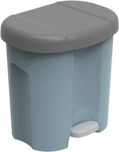Abfalleimer 2 x 10 l DUO, Farbe:Blau