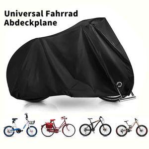 Fahrradabdeckung Universal Fahrrad Abdeckplane Fahrradgarage Abdeckung Fahrradhülle Schutzhülle