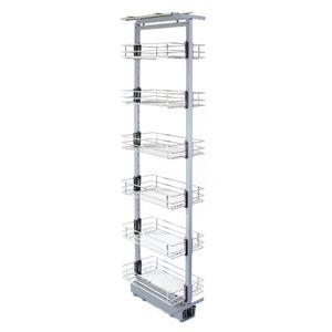 KuKoo ausziehbarer Vorratsschrank Küche – 170cm - 195cm H