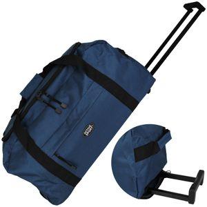 Active Sport Trolleytasche blau 50L auf 2 Rollen Reisekoffer Trolley Koffer Reisegepäck Reisetasche