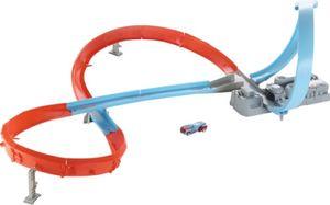 Mattel HW Rennstrecke mit 8er Kurve + 1 Fahrz.