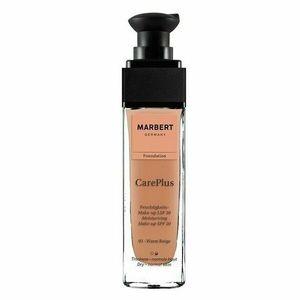Marbert Care Plus Make-up Foundation 03 Warm Beige LSF 20 30 ml
