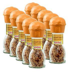 Kotanyi Karamell Vanille feine grobe Gewürzmühle 53g 10er Pack