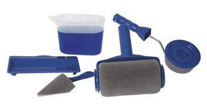 Mediashop Renovator Paint Runner Pro-Set incl. Farbroller, Ablagefläche, Kanne, Eckstreicher und Kantenroller
