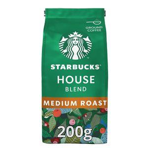 Starbucks House Blend Medium Roast gemahlener Filterkaffee 200g