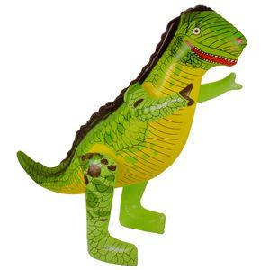 Aufblasbarer Dinosaurier 90 cm Wasser Deko Party Deko