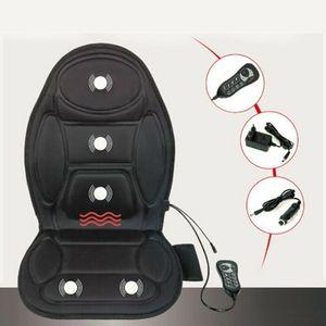 Massagesitzauflage für das Auto,  5 Massageprogramme, Autositzauflage- Sitzheizung mit Wärmefunktion