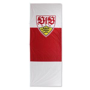 VfB Stuttgart Hissfahne für Fahnenmast Wappen im Hochformat 150x400cm 16065