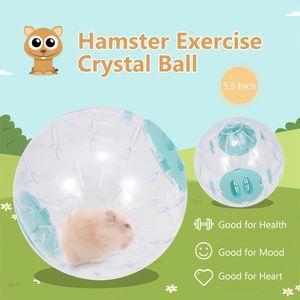 Hamster-Gymnastikball Hamster Crystal Ball 5,5 Zoll klar Hamster Running Ball