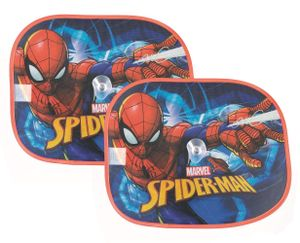 Sonnenschutz Spiderman 2er Set Kinder Sonnenrollo Auto Kindersonnenschutz