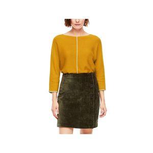 S.oliver Damen Pullover 2043096 Gelb