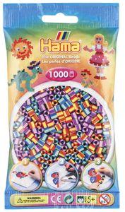 "Hama Bügelperlen midi ""Streifenperlen Mix 92"" im Beutel 5,0 mm 1.000 Bügelperlen"