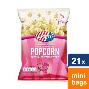 Jimmy's - Popcorn Süß - 21 mini beutel