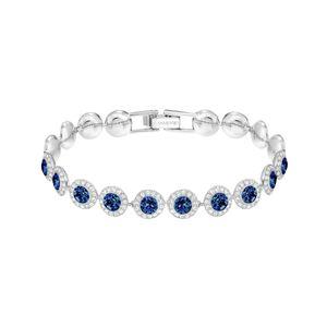 Swarovski Armband 5480484  Angelic, blau, rhodiniert