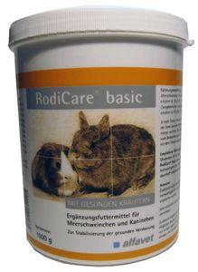 Alfavet RodiCare® basic 1000g für Meerschweinchen & Kaninchen