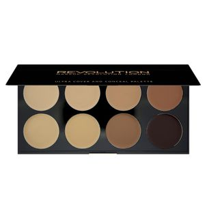 Makeup Revolution Ultra Cover & Conceal Palette Contour 10 g Medium Dark