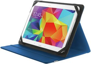 Tablet Universal Hülle (mit Stand für Samsaung Galaxy Tab A, Huawei MediaPad,(10 Zoll)) blau