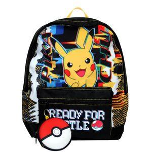 Pokémon Rucksack Jungen 36 x 24 x 13 cm Polyester schwarzgelb 16 L Backpack