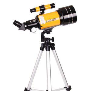Orange 70mm Apertur Teleskop 300mm Refraktor Spiegelteleskop Astronomie Fernrohr Set