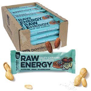 Bombus Fitness Riegel Salty Caramel & Peanuts 20 x 50g Vegan Glutenfrei Ohne Zuckerzusatz