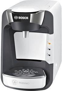 CYE&Tassimo Suny Kapselmaschine TAS3204 Kaffeemaschine by Bosch, über 70 Getränke, vollautomatisch, geeignet für alle Tassen, nahezu keine Aufheizzeit, 1300 W, weiß