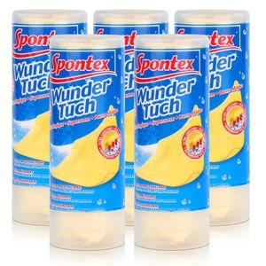 Spontex Wundertuch - Reinigt, Trocknet und Poliert (5er Pack)