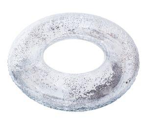 Schwimmreifen transparent Glitzer Schwimmring für Sommerpool 10261, Größe:95 cm