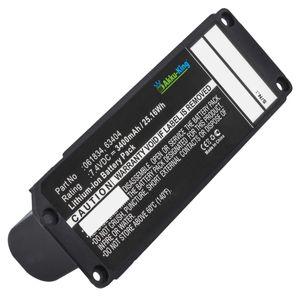 Akku kompatibel mit Bose 063287, 063404 - Li-Ion 3400mAh - für Bose Soundlink Mini