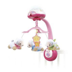 VTECH - Vtech Baby - Mobile Lumi Mobile Pink Schafzahl