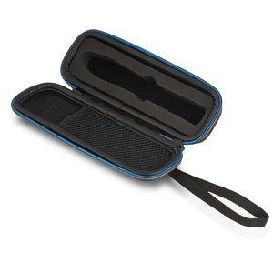 Wicked Chili Tasche für Bite Away - Hard Case für elektronischen Stichheiler gegen Juckreiz - Premium Schutzhülle, Etui für Mückenstichheiler (mit Zubehörfach für Desinfektionstücher) schwarz