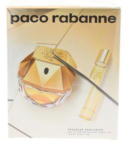 Paco Rabanne Lady Million EdP 80 ml + EdP Mini 20 ml NEU &