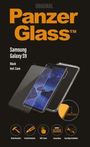PanzerGlass Samsung Galaxy S9 Black | Case Friendly w. PG Case