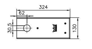 Deckplatte dormakaba