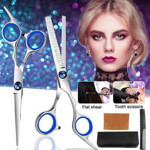 """11PCS 7"""" Friseurscheren Set Haarschere Effilierschere Scissors Haarschneiden Set"""
