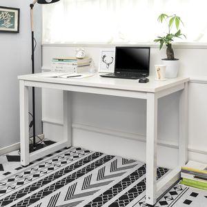 Computertisch PC Tisch Schreibtisch Bürotisch 120 x 60 x 75 cm Farbe: Weiß/Weiß