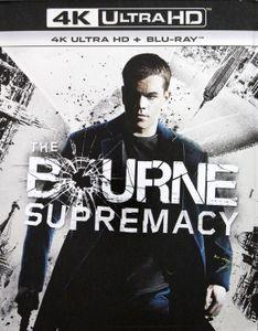 The Bourne Supremacy [4K Ultra HD + Blu-ray] [FR-Import]