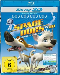 Space Dogs - Hunde im Weltall (Blu-ray 3D)