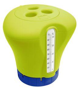 Chlordosierer mit Thermometer - verschiedene Farben