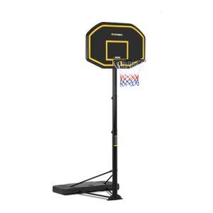 Gymrex Basketballkorb mit Ständer - höhenverstellbar - 200 bis 305 cm