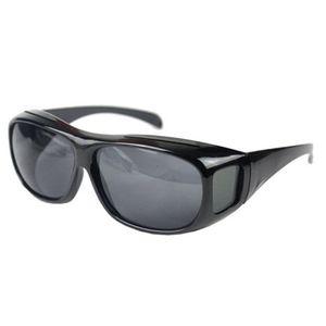 Boolavard Herren und Damen Sonnenbrille Polarisiert Unisex Brille Überbrille für Brillenträger Fit-over Polbrille (Grey, Driving)