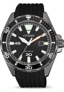 Citizen Eco-Drive Solar Sports Herrenuhr Edelstahl BM7455-11E 10bar WD