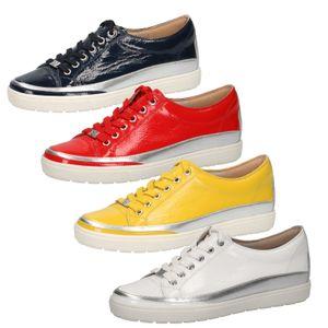 Caprice 9-23654-24 Damen Sneaker Halbschuhe Leder , Größe:39 EU, Farbe:Rot