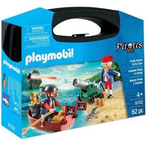 PLAYMOBIL 9102 - Piraten- und Soldatenkoffer