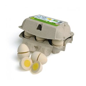 Erzi 17015 Eier zum Schneiden für die Kinderküche