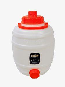 'Speidel' Mostfass 12 Liter ❀ mit 2 Deckeln