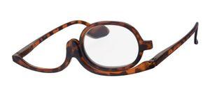 Praktische Schminkbrille havanna +1,5 Lesebrille Make-up Brille Federbügel