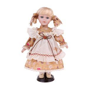 30cm viktorianischen Porzellan Mädchen Puppe Menschen Figur Dekoration